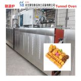 tunnel baking oven for pet food beef jerky biscuit fruit slice spices vegetables