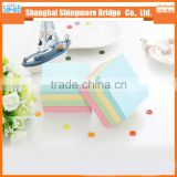 Hot wholesale sticky not pad, memo pad, school and office used for routine