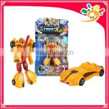 Best educational toy die casting car toy robot transformer for sale