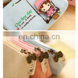 Lovely Cartoon Wonmen Girls Canvas Coin Purse