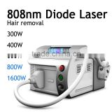 Lip Hair Salon Use 808nm Diode Laser Hair Removal Machine Women / 808nm Diode Laser Portable / Diode Laser Beard Portable