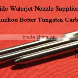 Solid carbide waterjet cutting nozzle/ carbide sand tube