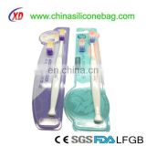 pregnant woman tooth brush/ silicone toothbrush