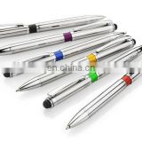 hot sales Promotional gift Personalised Laser Engraved Metal Ballpoint Touch Pen AP002