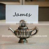 TeaPot Wedding Favor Place Card Holder
