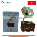 Plastic Mechanical Gramophone <b>Music</b> <b>Box</b>
