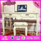 2016 wholesale luxurious solid wooden bedroom vanity W08G192
