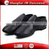 Leather Neoprene Elastic Slip-on Jazz Shoes