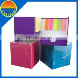 Colorful paper sticky notes