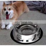 High quality cheap non - skid dog feeder dog bowl