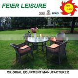 Garden outdoor portable table and chairs