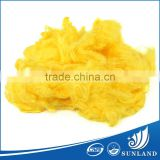 Yellow Rayon Fibers