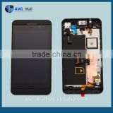 replacement LCD display assembly with frame for Blackberry London/Surfboard/L-Series/L10/ Z10 black