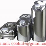 Stainless Steel Jerry Can / Fuel Can / Gasoline Can / Milk Can / Wine Can / Beer Can / Edible Oil Can