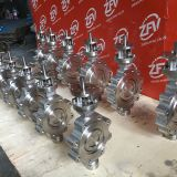 Lug type triple offset Butterfly valve