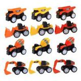 12PCS Engineering Car Construction Vehicle Children Toys