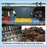 Metal double shaft shredder