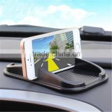 Best Selling Mobile Phone Silicone GPS Stuff Container Car Cell Phone Holder