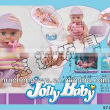 Hot sale 14 inch funny newborn indian doll baby with doctor set toy
