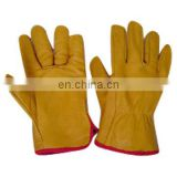 Cowhide suede Leather Gloves 707 working gloves/Safety Gloves,Cow Split Leather WorkGlove,