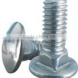 <b>Zinc</b> <b>plated</b> Carriage bolt
