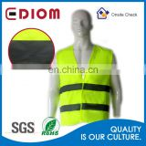 Wholesale custom high visibility fluorescent reflective safety security vest