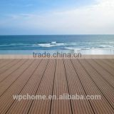 Friendly WPC decking/low price WPC flooring fire-resistant/easy installed WPC composite decking floor
