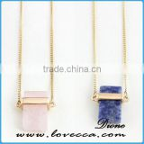 Wholesale Cheap Fashion Long Chain Necklace Gemstone Necklace