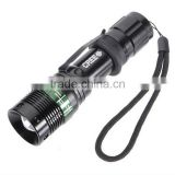Hot selling zoom rechargeable aluminium LED flashlight tactical flashlight