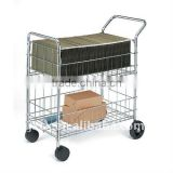OF5107 steel office mail cart
