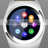 Smart Watch Round Smartwatch with Bluetooth Pedometer Sleep Monitor SIM TF Card Slot