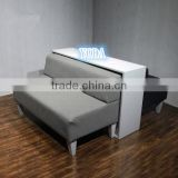 L1200 Modern Double Leather Sofa Sets for Shoe Store