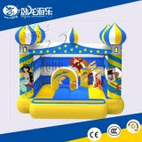 Playing Wolong inflatable castle amusement equipment