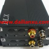 analog video+analog audio fiber optical transmitter and receiver