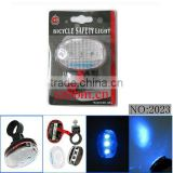 3 blue LEDs Bicycle tail/rear light