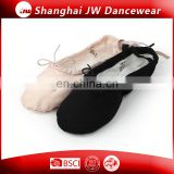 Canvas Upper Dance Shoes Split-sole Ballet Slipper for kids and ladies