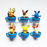 Made in China high quality pokemon game figures mini PVC toys for kids wholesale