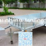 Galvanized Folding Utility Trailer
