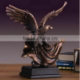 Resin Garden Eagle Status Urn For Sale