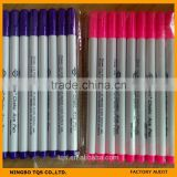 Water Erasable Pen/Water Soluble Pen/Auqa Marker Pen/Washable Pen/Tailor Chalk/Sewing Chalk Pen