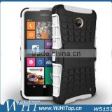 Hybrid Heavy Duty Case Shockproof With Satnd PC Silicone Cover For Various Nokia Lumia Model 630