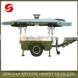 New model military mobile kitchen equipment, field kitchen trailer hot fast food cooking equipement