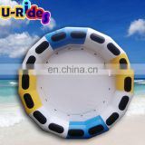PVC water inflatable raft for rental