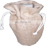 JUTE BOTTLE DRAWSTRING BAG