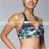 Cheap wholesale drop shipping sublimation xxx sexy sports bra