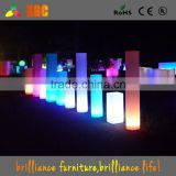 wedding decoration pillar, led lighting wedding columns