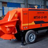 40m³/h Diesel Type Trailer Mounted Concrete Pump Model: HBTS40-12-82R - Taian Sinotep Machinery Co.,Ltd