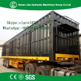 3 Axles Dry Cargos Transport Box Semi Trailer Common Mechanical Air Suspension Semi Trailer