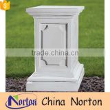 greek carved marble pedestals wedding decorations NTMF-PE011Y