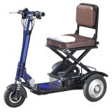 China cheap foldable electric tricycle adults, folding 3 wheel electric tricycle with lithium battery